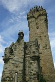 picture of william wallace  - The William Wallace Monument in Scotland - JPG