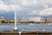 view of city of Geneva