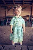 Little Girl With Coronet