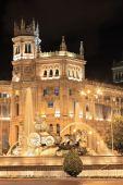 Plaza De Cibeles Madrid At Night