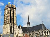 Cathedral in Mechelen Belgium