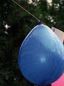 Balloon In The Rain