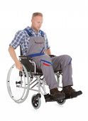 Manual Worker In Wheelchair