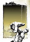Rapper Poster Background