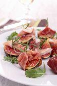 fig with prosciutto