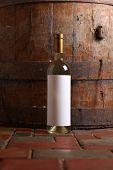 White Wine In Cellar