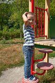Boy On Playground