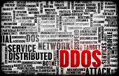 DDOS Distributed Denial of Service Attack Alert