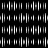 Seamless Monochrome Wave Pattern