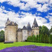 impressive medieval castles of France, Dordogne region