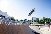 Rodrigo Vicente During The Dvs Bmx Series 2014 By Fuel Tv