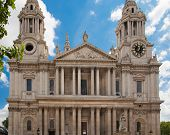 LONDON, UK - JULY 6, 2014:  St. Paul's cathedral