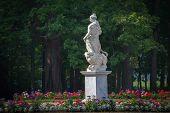 Statue of Pax in Pavlovsk. St. Petersburg. Russia.