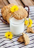 Homemade Oatmeal Peanut Butter Cookies