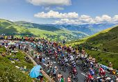 The Peloton In Mountains