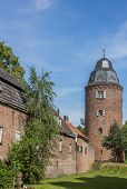 Mill Tower In The  Historic Center Of Kranenburg