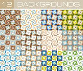 Background squares 12