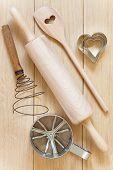 Baking Utensils Made ??of Wood