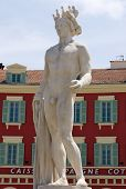 City Of Nice - Statue Of Apollo On The Place Massena