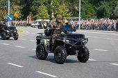 Military Quad Polaris, Quick Reconnaissance