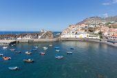 Harbor Camara De Lobos Near Funchal, Madeira Island