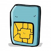 cartoon sim card