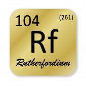 Rutherfordium element