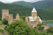 Fortress Ananuri, Georgian Military Road, Georgia, Europe