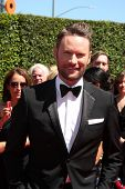 LOS ANGELES - AUG 16:  Brian Tyler at the 2014 Creative Emmy Awards - Arrivals at Nokia Theater on August 16, 2014 in Los Angeles, CA