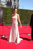 LOS ANGELES - AUG 16:  Annie Wersching at the 2014 Creative Emmy Awards - Arrivals at Nokia Theater on August 16, 2014 in Los Angeles, CA