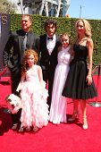 LOS ANGELES - AUG 16:  Kuma, Regan Burns, Francesca Capaldi, Blake Michael, G. Hannelius, Beth Littleford at the 2014 Creative Emmy Awards  at Nokia Theater on August 16, 2014 in Los Angeles, CA