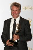 LOS ANGELES - AUG 16:  Tate Donovan at the 2014 Creative Emmy Awards - Press Room at Nokia Theater o