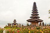 Pura Ulun Danu Temple On Bratan Lake (bali, Indonesia)
