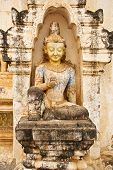 Buddha in the temple of Ananda