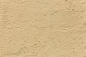 Plaster Or Cement Texture Light Yellow Color