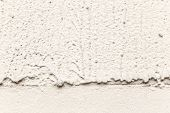 Plaster Or Cement Texture White And Gray Color