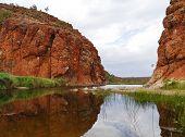 The Australian West Mcdonnell ranges