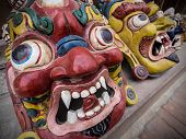 Traditional Nepalese Handicrafts At Street Market In Kathmandu, Nepal