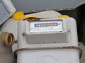 Obsolete Disused Gas Counters In A Landfill Of Toxic Waste Special