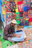 Painted Handmade Clothes, Indian Handicrafts Fair At Kolkata