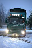 Scania P420 Waste Collection Truck