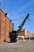 Crane at Gloucester Docks.