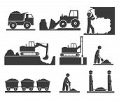 ?onstruction Earthworks Icons Mining And Quarrying