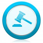 auction icon court sign verdict symbol