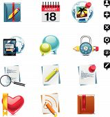 Vector social media icon set. Part 2