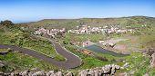 La Gomera - Panorama of Arure