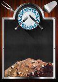 Blackboard For Seafood Menu