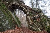 Stone structure in the countryside