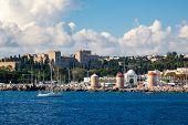 Coast Of Rhodes Greece