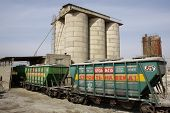 Railway Tank Wagon For Transportation Of Cement